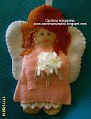 Angelita de fieltro, Navidad