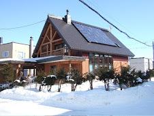 冬の我が家