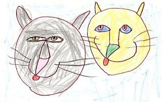 Cat Heads #2