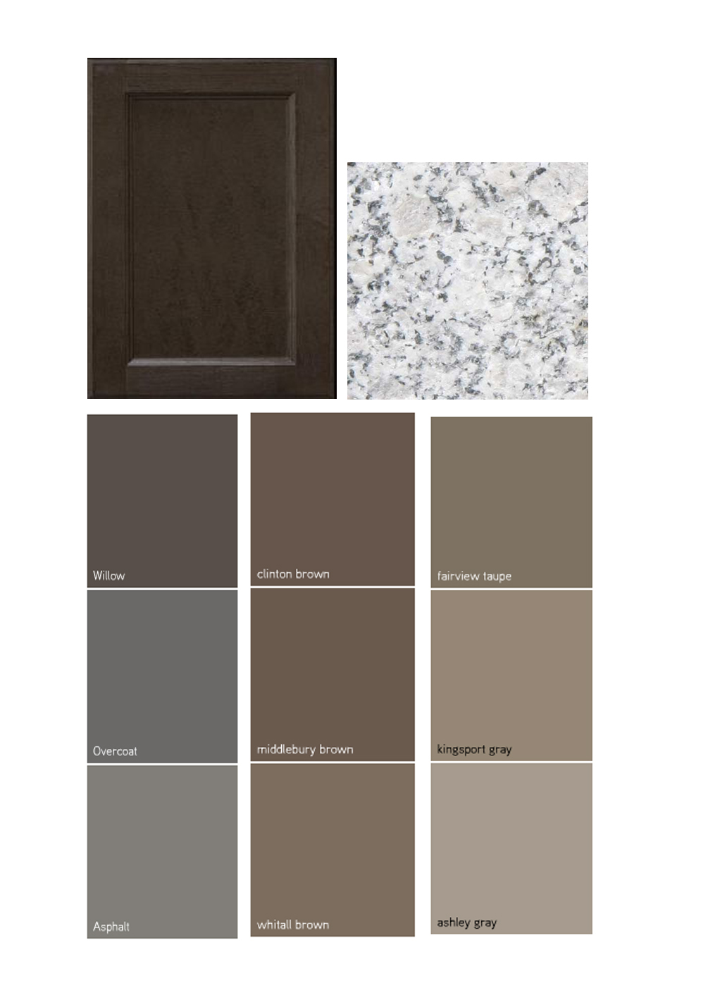 The  olive  hues present in the kitchen cabinets give you the optio
