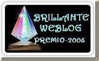 Brillante Weblog Premio Award 2008