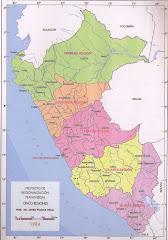 LA REGIONALIZACION TRANSVERSAL DEL PERU
