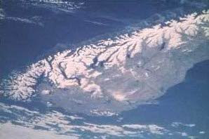New Zealand main alpine faut line