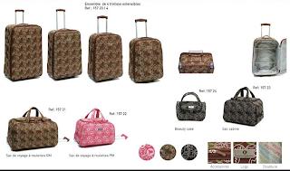 Lulu castagnette luggage material