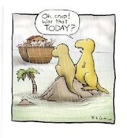 Noahs ark and Dinosaur