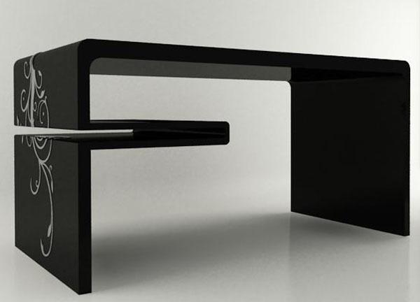 Maria berna ideias de mesas para escrit rio for Mesas escritorio modernas