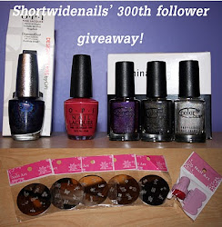 shortwidenails 300 follower giveaway ♥