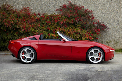 Fiat 500 USA: The Alfa Romeo 2uettottanta...the next Alfa Spider?