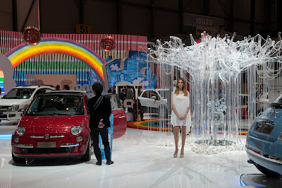 Fiat 500 USA: Fiat at the 2010 Geneva International Motor Show :  ecology cars fiat business