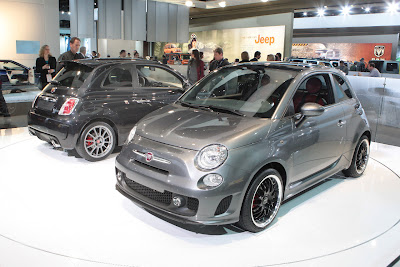 Fiat 500 USA: Chrysler to manufacture the Fiat 500EV... :  fiat technology design cars electric cars