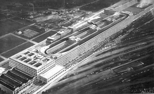 Fiat Lingotto Car Factory