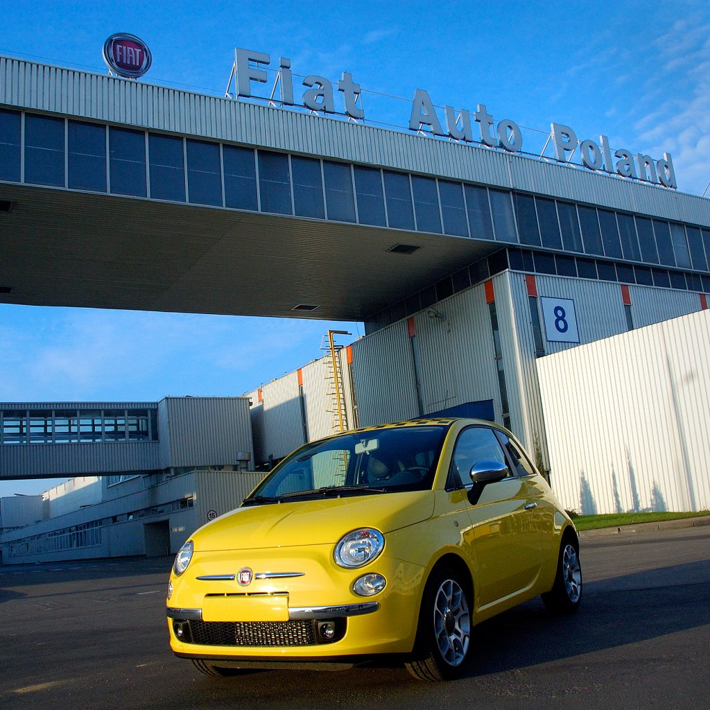 Fiat Auto Poland factory,