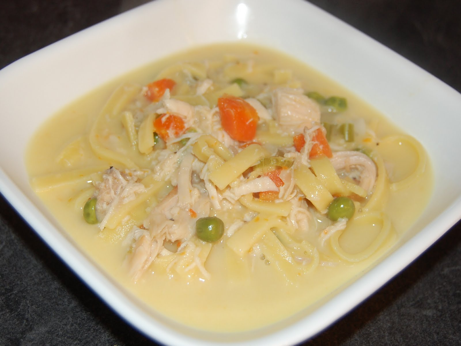 Cassie Craves: Creamy Chicken Noodle Soup