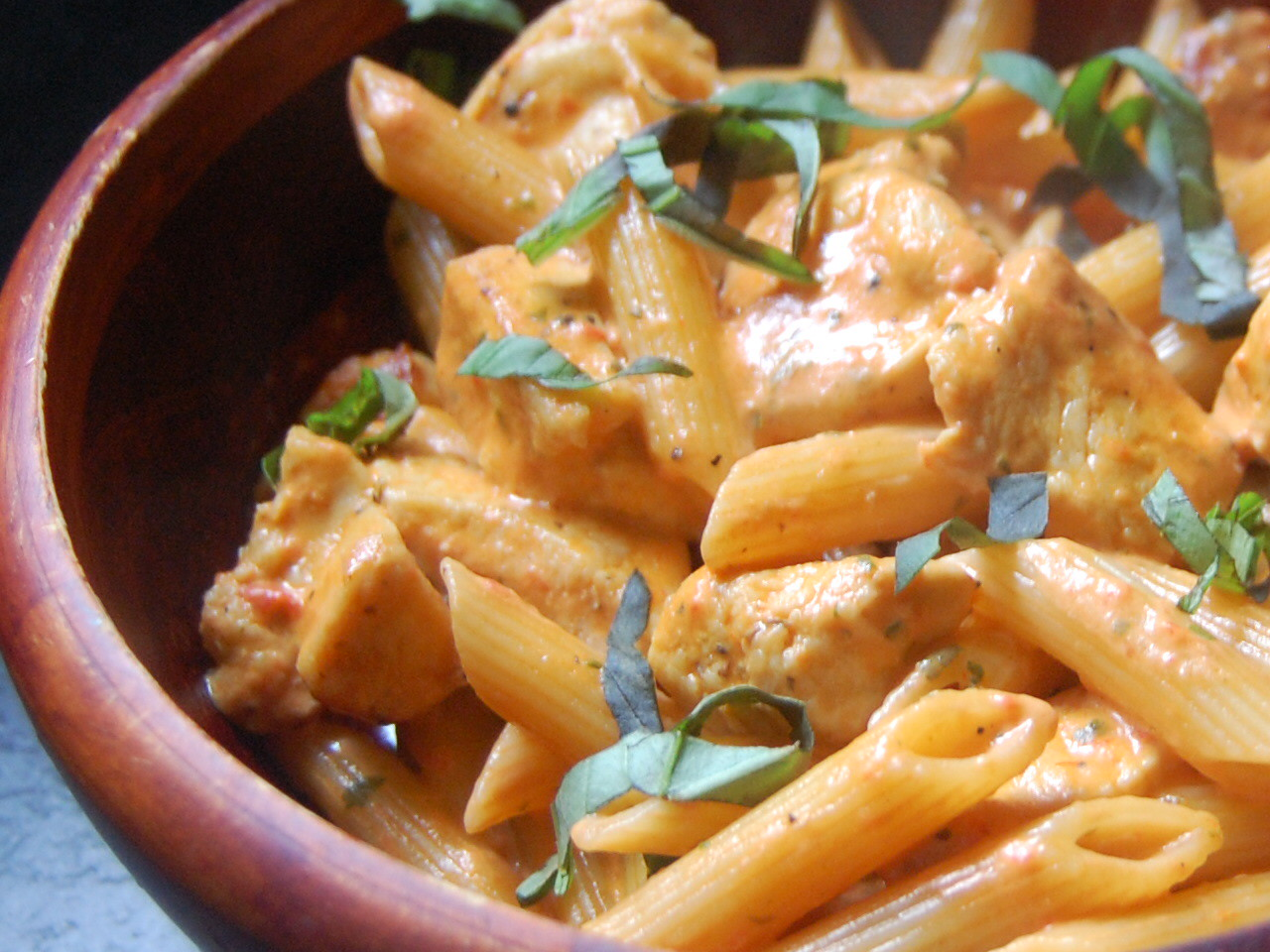 how to cook chicken for pasta sauce