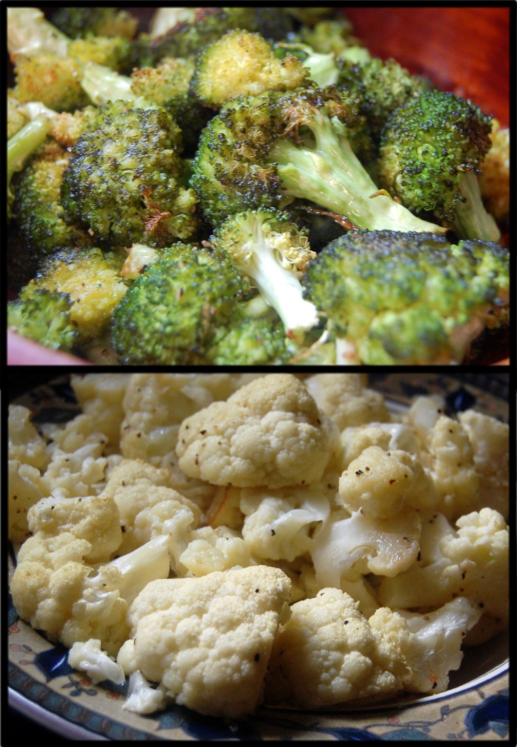 Roasted Broccoli or Cauliflower