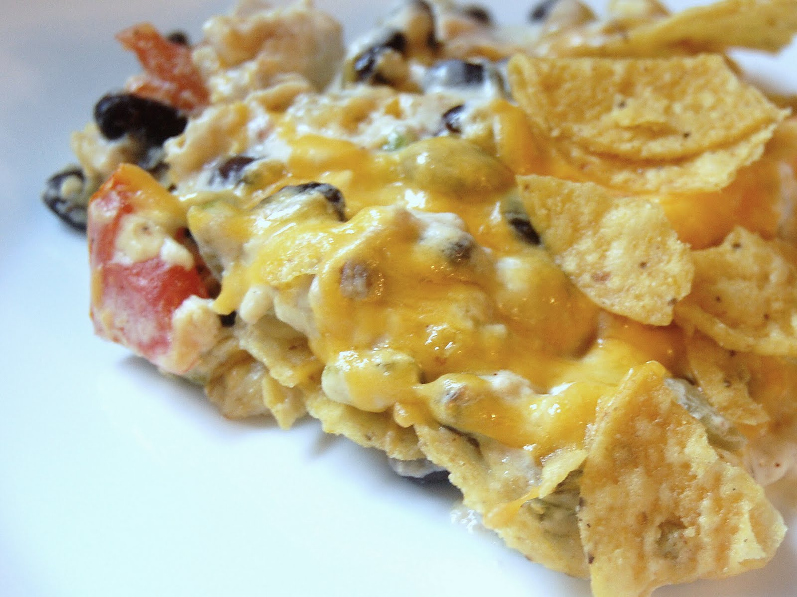 Cassie Craves: Chicken Tortilla Casserole