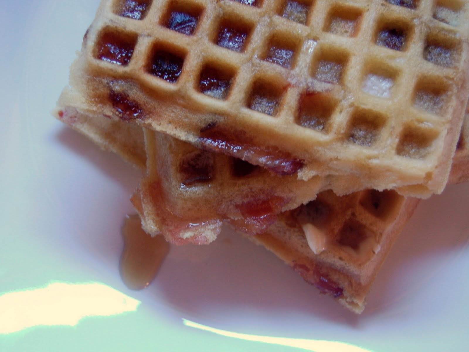 Brown Sugar Bacon Waffles Recipes — Dishmaps