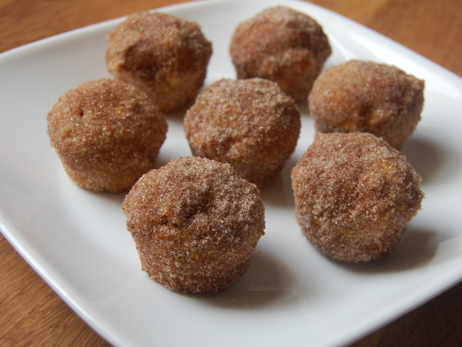 on the subject of pumpkin these pumpkin doughnut mini muffins are by ...