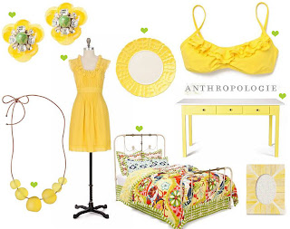 anthropologie yellow fever