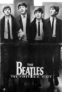 The Beatles First US Visit Poster And Standee