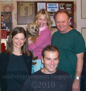 Christopher Cazenove and the cast of The Grass Is Greener October 2009