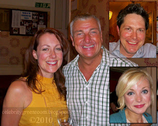 From left - Joanne Heywood, David Callister, Neil Roberts, Helen George