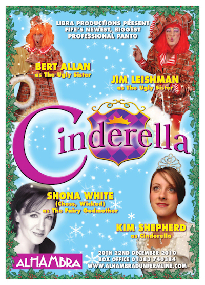 Cinderella Dunfermline with Shona White and Kim Shepherd