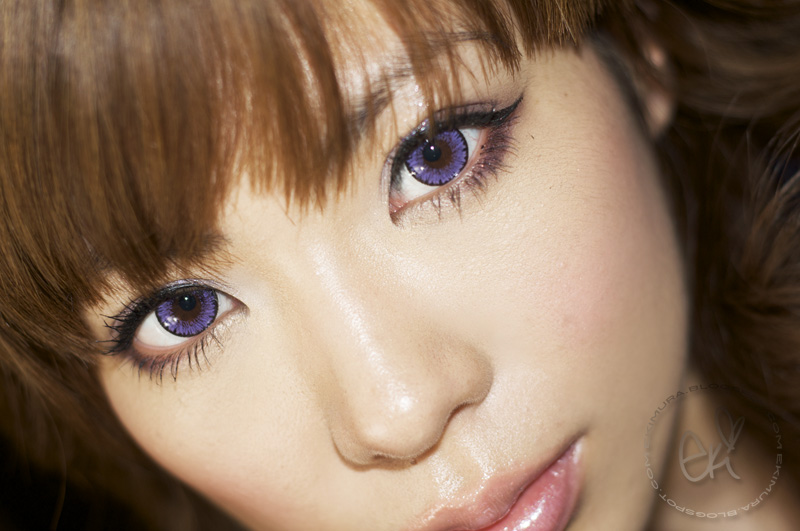 venus color contacts in violet - Freshlook Colors Violet