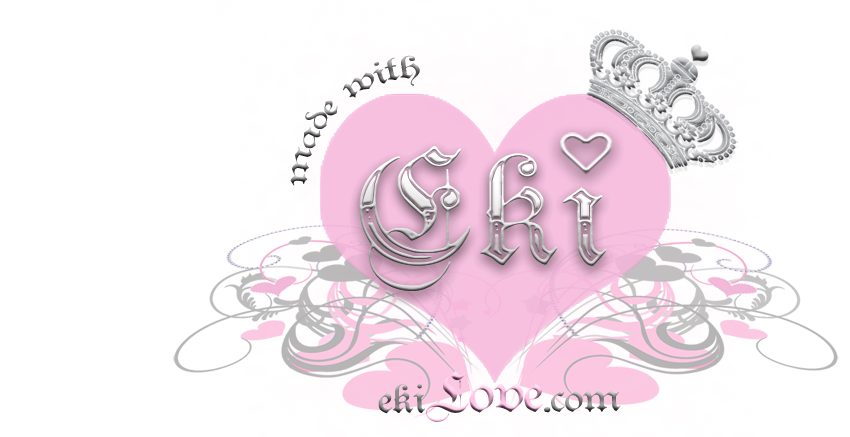 ♥ made with ekiLove ♥