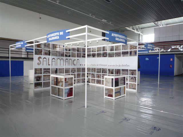 """Diseño Stand Ayuntamento de Salamanca """"Piedra de Villamayor"""