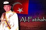 Al-Fatihah Kepada Al-Marhum Sultan Iskandar :