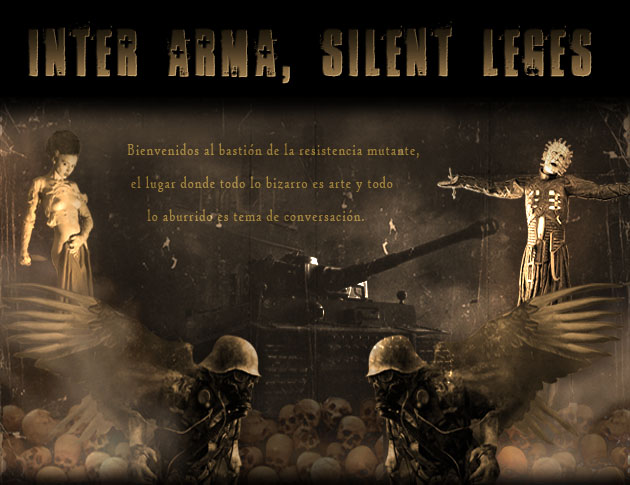 Inter arma, silent leges