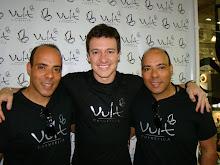 Gêmeos Maquiadores e Rodrigo Faro