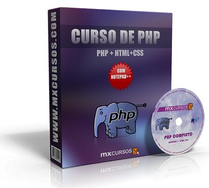 Capa Curso completo de PHP   MX Cursos