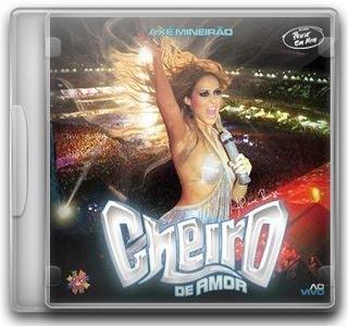 Capa CD Cheiro de Amor   Axé Mineirão (2010)
