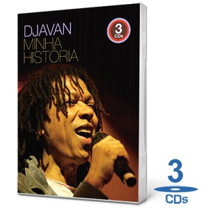 Capa Coletânea   Djavan – Minha História – 3 Cds (2010)
