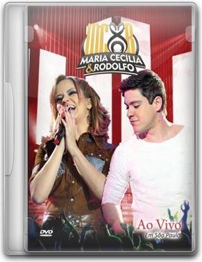 Capa Maria Cecília e Rodolfo   Ao Vivo em São Paulo   DVDRip