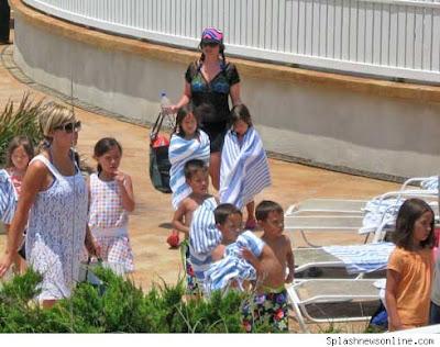 Kate and Nannie Plus Kids at Bald Head Island, NC Memorial Day 09