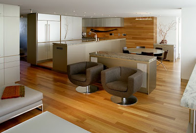 Condo Interior Design on Homes  Spatial Condo Interior Design By Tyler Engle Architects