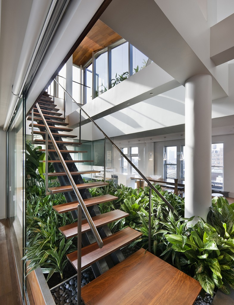 Architecture modern loft interior design ideas by new for Jardines interiores