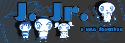 J. Jr e seus desenhos