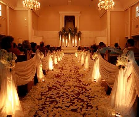 Church Wedding Decorations Wedding Decorations