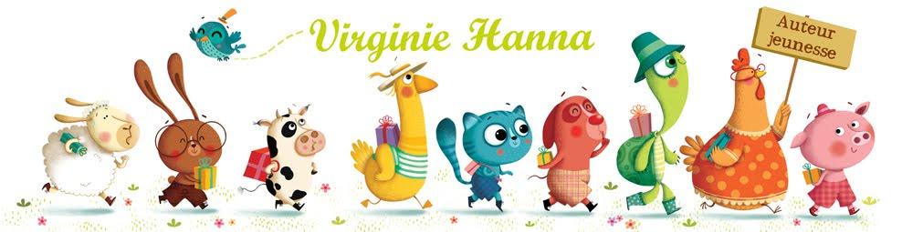 Virginie Hanna, auteur jeunesse