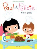 Paul et Flicie font un gteau