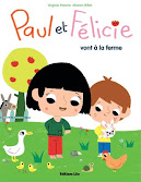 Paul et Flicie vont  la ferme