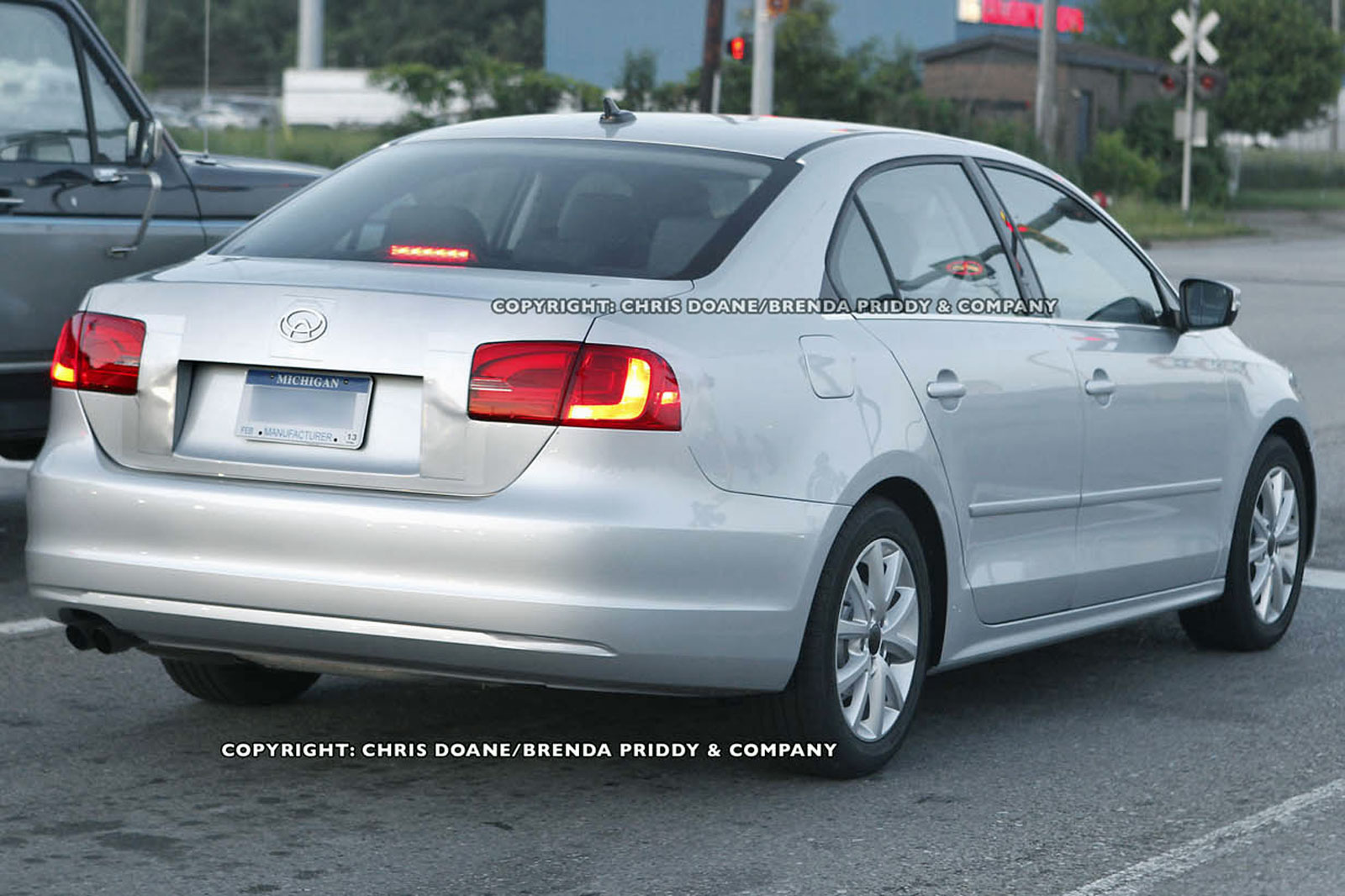 Expensive New Cars 2011 Volkswagen Jetta Spied Nearly