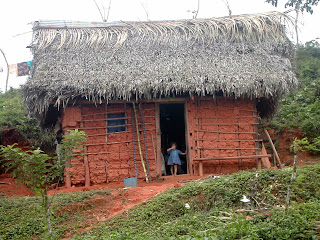 clay house, Honduras