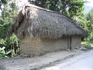 Adobe house, Honduras