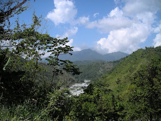 River through the mountains, Honduras