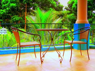 terrace, La Ceiba, Honduras